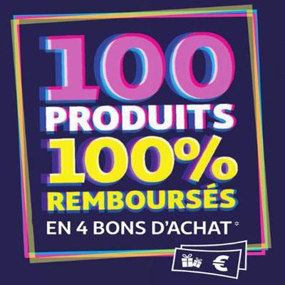 100 Produits d'Auchan 100% remboursés