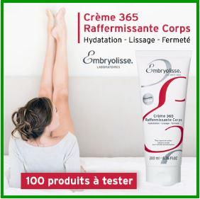 La crème 365 raffermissante d'Embryolisse