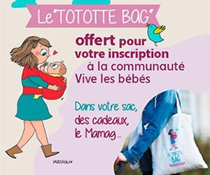 """""""tototte bag"""" gratuit échantillons pour bébé"""
