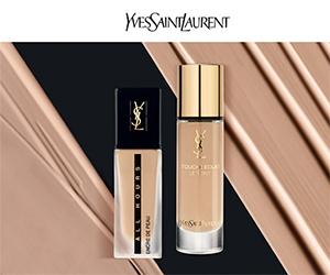 Yves Saint Laurent vous offre des échantillons de Fond de Teint !