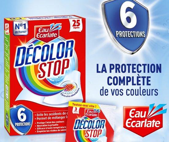 Échantillon Decolor Stop