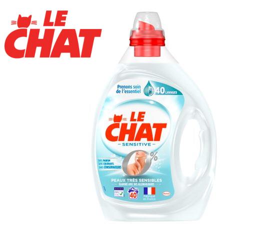 Le Chat lessive