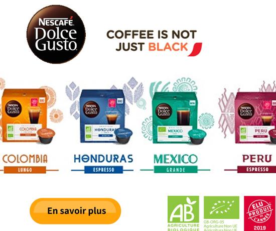 Testez gratuitement le café BIO de NESCAFÉ Dolce Gusto