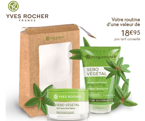 Soins Visage Sebo Végétal Yves Rocher