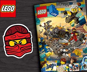 LEGO offre des abonnements gratuits au LEGO Life Magazine !