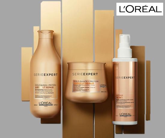 Kits soins cheveux L'Oréal