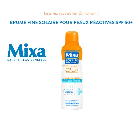 Crème solaire MIXA