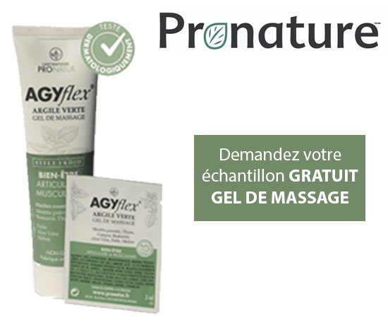 Echantillon de gel de massage ProNatur