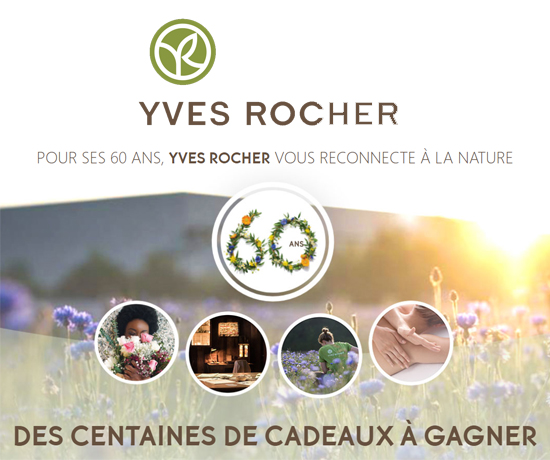 Jeu concours Yves Rocher