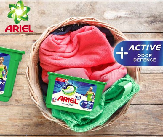 Capsules lessive 3en1 Ariel