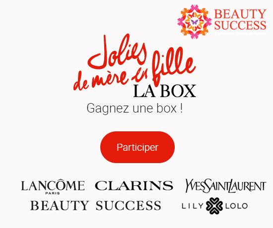 Beauty Success jeu concours