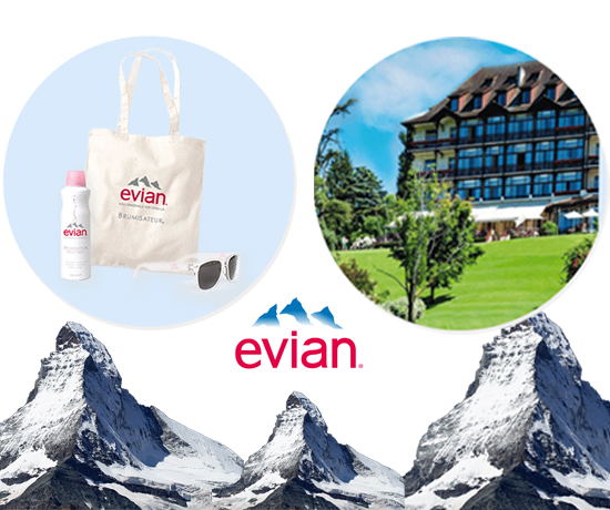 Evian jeu concours