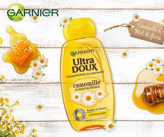 Shampoing Garnier à la camomille