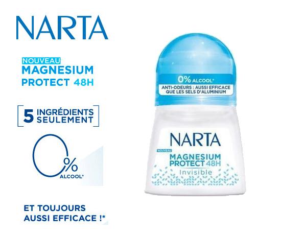 NARTA déodorant bille
