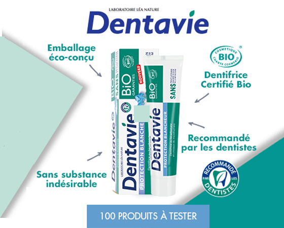 Dentifrice Protection Blancheur Dentavie