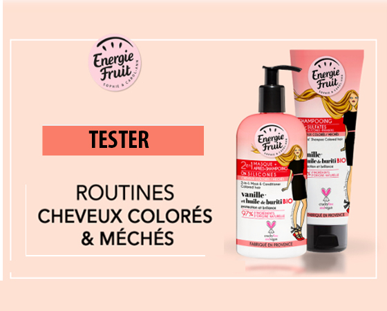 Routine cheveux Energie Fruit