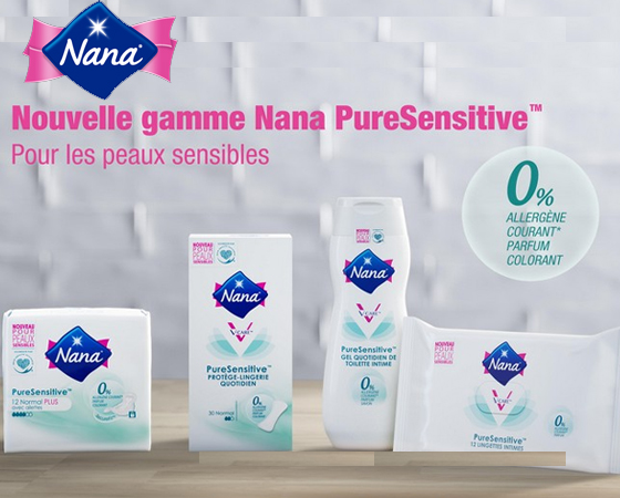 Serviettes hygiéniques Nana