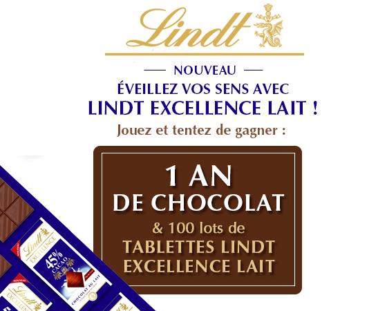 1 an de chocolat LINDT