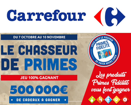 Bon de réduction, bons d'achat, code promotionnel Carrefour