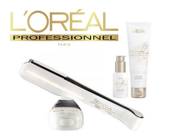 Lisseur Steampod L'Oréal