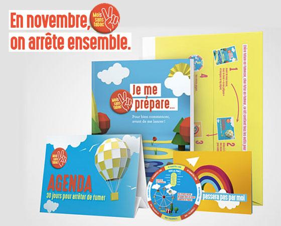 Kit Pour Arrêter la cigarette avec le Mois sans Tabac en Novembre