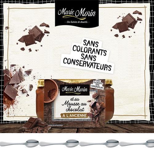 mousse au chocolat Marie Morin avec TestClub