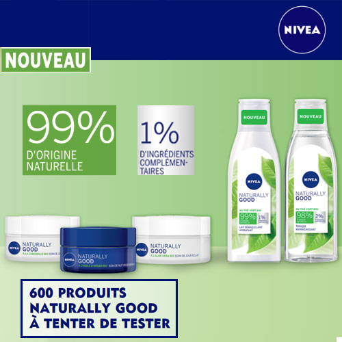 soins corps et visage naturally good Nivea avec TestClub