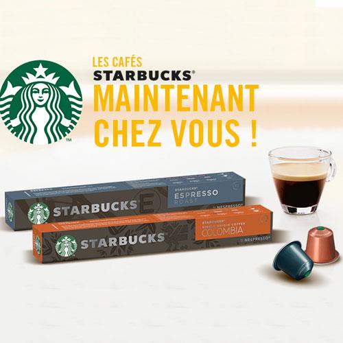 starbucks testclub site échantillon dosettes café