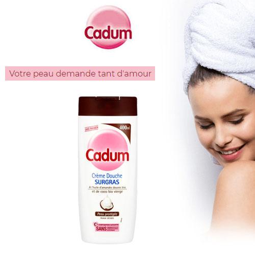 cadum crème douche noix de coco Cadum gratuit