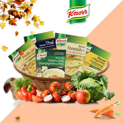 soupes Knorr légumes Je Test et Test Club
