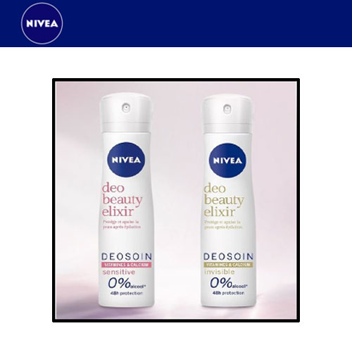 recevez un déodorant spray nivea avec test club
