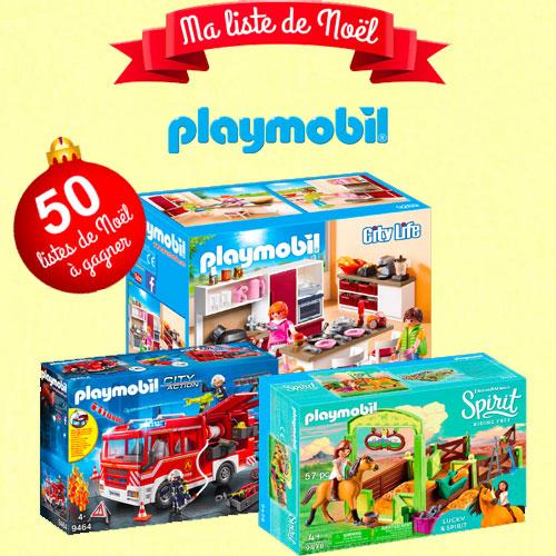 playmobil test club noël gratuit jeu concours Test Club tests échantillons gratuits
