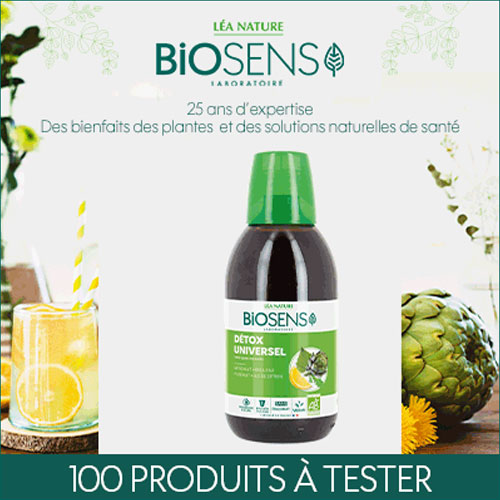 cocktail detox biosens plantes gratuit avec TestClub