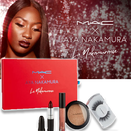 Box maquillage MAC avec AyaNakamura
