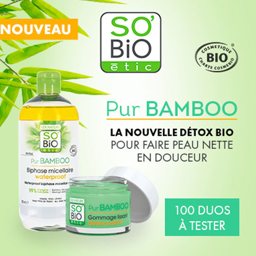 Duo nettoyant So Bio étic