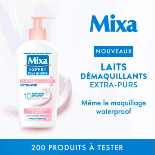Lait démaquillant Mixa