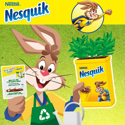Carte à planter Nesquik
