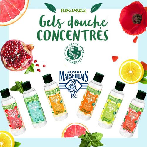 gels douche Le Petit Marseillais gratuits